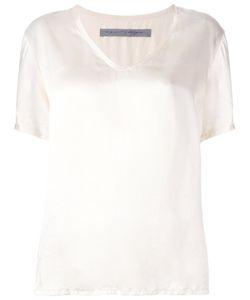 Raquel Allegra | V-Neck T-Shirt 2 Silk