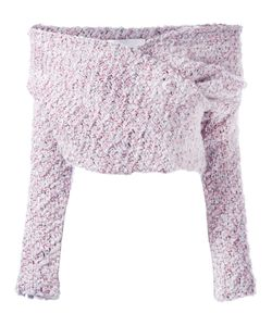 Daizy Shely   Off The Shoulder Jumper 40 Wool/Polyamide/Metallized