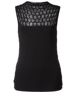 Roland Mouret | Holford Sleeveless Top Small Polyester/Viscose