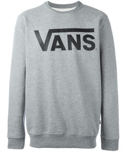 Vans | Logo Print Sweatshirt Small Cotton/Polyester