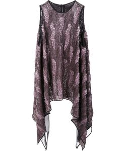 MATICEVSKI | Flared Tank Top 8 Silk/Nylon/Sequin