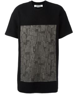 INDIVIDUAL SENTIMENTS | Square Print T-Shirt Small Cotton/Wool