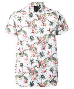 Biro | Aloha Shirt Small Cotton