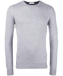 Paolo Pecora | Bicolour Round Neck Jumper Small Wool
