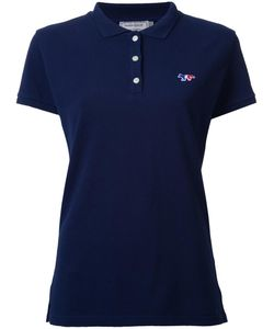 Maison Kitsune | Maison Kitsuné Tricolour Fox Polo Shirt Medium Cotton