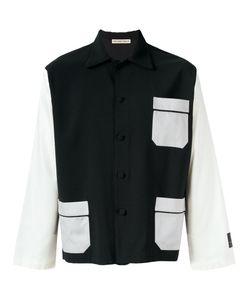 Emiliano Rinaldi | Patch Pockets Shirt 48 Virgin Wool/Cotton/Viscose