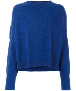 DUSAN | Round Neck Chunky Jumper Small Cashmere