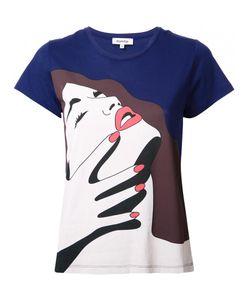 Yazbukey | Pop Art Print T-Shirt Small Cotton