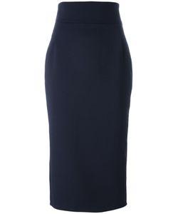 Erika Cavallini | Midi Skirt 46 Polyester/Spandex/Elastane/Virgin Wool