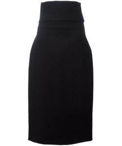 Jil Sander | Bouquet Skirt 38 Wool/Polyamide/Spandex/Elastane/Spandex/Elastane