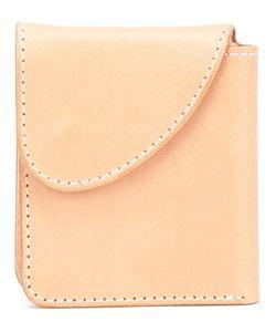 HENDER SCHEME | Button Flat Wallet Leather