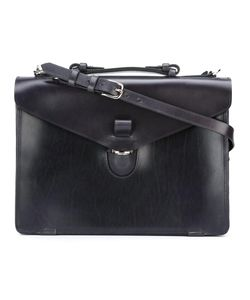 Tarnsjo Garveri   Envelope Buckle Briefcase Calf Leather