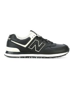 New Balance | Lateral Logo Patch Sneakers 41.5 Leather/Rubber/Polyamide
