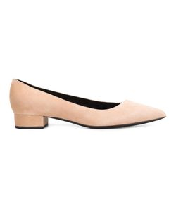 Giorgio Armani | Pointed Pumps 40 Suede/Leather
