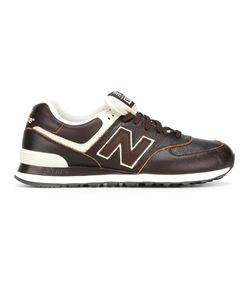 New Balance | Lateral Logo Patch Sneakers 42.5 Leather/Polyester/Rubber