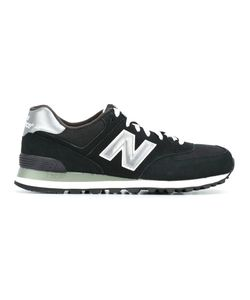 New Balance | Lateral Logo Patch Sneakers 40.5 Leather/Nylon/Rubber