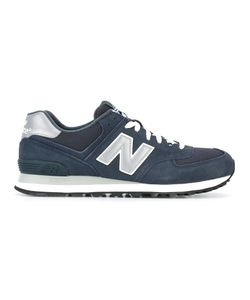 New Balance | Lateral Logo Patch Sneakers 46.5 Rubber/Polyamide/Suede