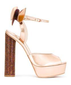 Sophia Webster | Raye Platform Sandals 39 Leather/Pvc