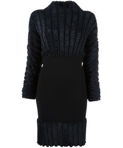 Alaïa | Ribbed Fitted Dress Medium