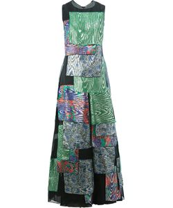 Maison Rabih Kayrouz | Layered Multiple Prints Dress 38