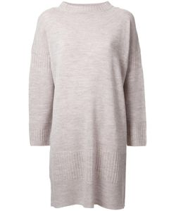 Theatre Products | Longsleeved Shift Knit Dress Wool