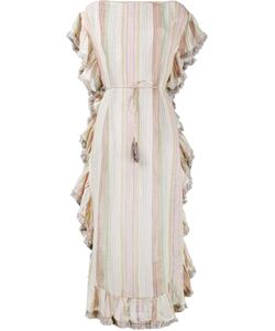 Zimmermann | Tropicale Striped Kaftan Dress 1 Cotton/Linen/Flax