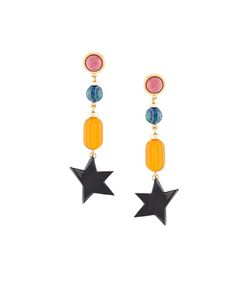 LIZZIE FORTUNATO JEWELS | Retro Holiday Earrings