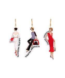 Theatre Products | Woman 3 Earring Set