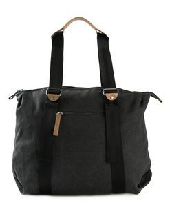 QWSTION | Simple Zip Tote Cotton
