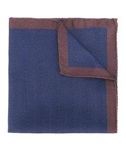 FASHION CLINIC | Stitched Effect Pocket Square Silk