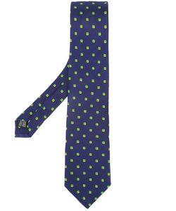 Fefè | Four-Leaf Clover Print Tie Adult Unisex Silk