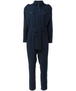 CAROLINARITZ | High Neck Belted Jumpsuit 36 Polyester