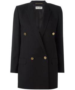 Saint Laurent | Long Double Breasted Tube Jacket 40