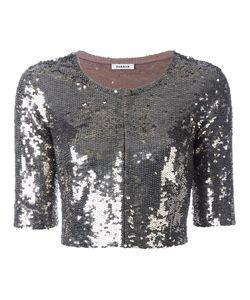 P.A.R.O.S.H. | Sequin Embellished Jacket Large Polyamide/Spandex/Elastane/Pvc