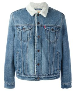 Levi's® | Levis Sherpa Style Denim Jacket Medium Cotton/Polyester/Polyamide