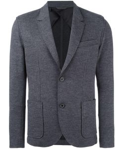 Lanvin   Deconstructed Two Button Jacket 48 Wool/Polyamide/Spandex/Elastane/Viscose