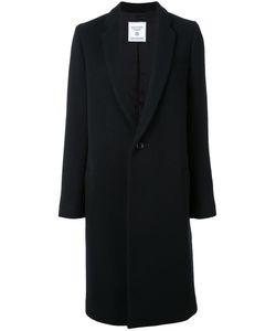 FAD THREE | Single Breasted Coat Small Cupro/Wool/Nylon/Cotton