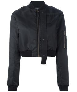 Anthony Vaccarello | Cropped Bomber 38 Polyamide/Acrylic/Cotton/Polyester