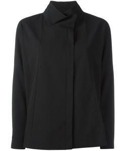 DEMOO PARKCHOONMOO | Funnel Neck Jacket 40 Polyester/Polyurethane/Rayon