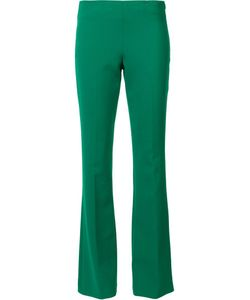 Trina Turk   Tailored Flared Trousers 6 Polyester/Viscose/Cotton/Spandex/Elastane