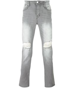 STAMPD | Ripped Slim-Fit Jeans 28 Cotton/Spandex/Elastane