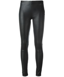 Just Female | Leather Leggings Medium Lamb Skin/Cotton/Spandex/Elastane