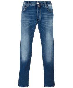 Jacob Cohёn | Jacob Cohen Stonewashed Slim-Fit Jeans 33 Cotton/Polyester/Spandex/Elastane