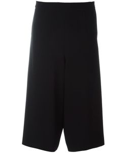 DEMOO PARKCHOONMOO | Cropped Wide Leg Trousers 38 Rayon/Polyester/Polyurethane