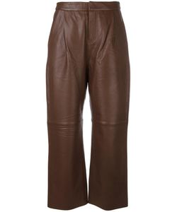 TONY COHEN | Tori Pants 38 Leather/Polyester