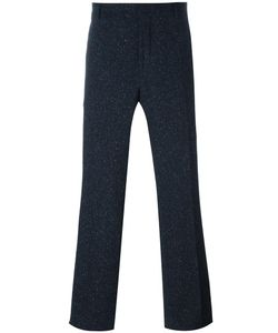 Carven | Wide Tailored Trousers 46 Cotton/Virgin Wool/Polyamide/Cotton