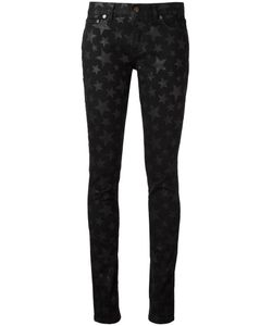 Saint Laurent | Star Print Skinny Jeans 27 Cotton/Spandex/Elastane