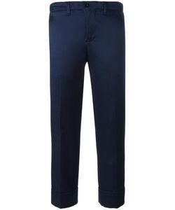 Julien David | Cropped Trousers Medium Cotton/Rayon/Silk
