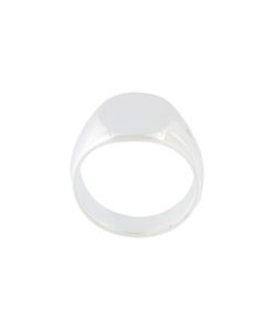 TOM WOOD | The Oval Signet Ring Adult Unisex 62