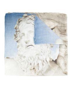 Ottotredici | Zeus Statue Scarf Modal/Silk
